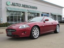 2007_Jaguar_XK-Series_XK Coupe LEATHER, NAVIGATION, HTD FRONT SEATS, POWER WINDOWS, KEYLESS START_ Plano TX