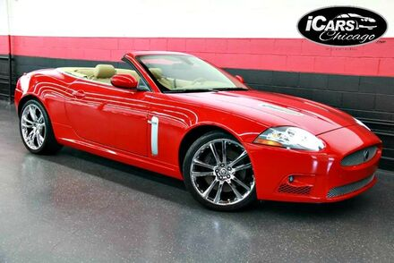 2007_Jaguar_XKR_2dr Convertible_ Chicago IL