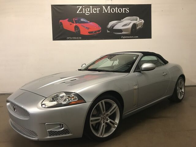 2007 Jaguar XKR V8 Supercharged Convertible One Owner low miles Clean Carfax *PRISTINE* Addison TX