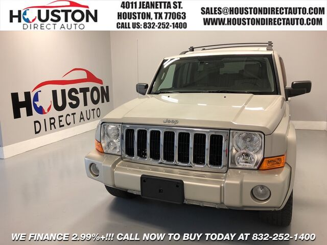 2007 Jeep Commander Limited Houston TX