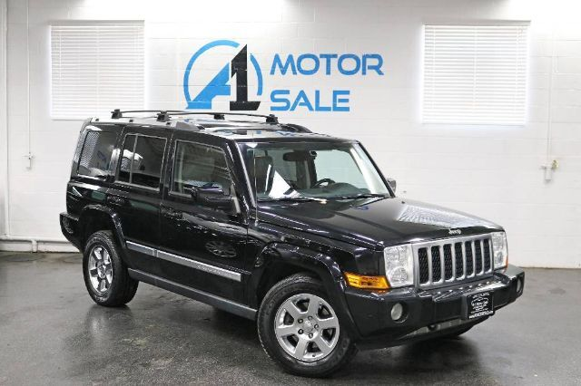 2007 Jeep Commander Overland Navi Rear TV Skylights Schaumburg IL