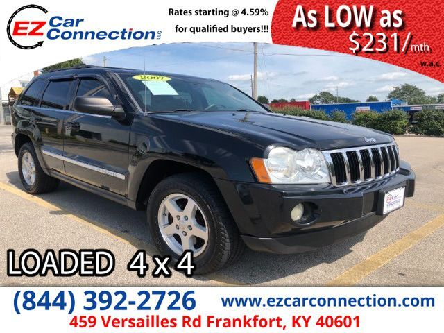 2007 Jeep Grand Cherokee Limited 4WD Frankfort KY