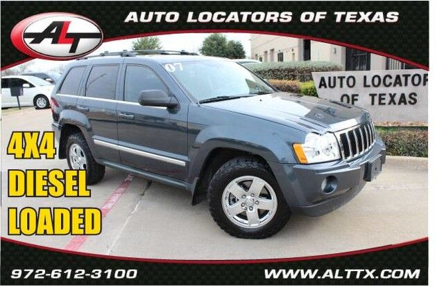 2007 Jeep Grand Cherokee Limited Plano TX