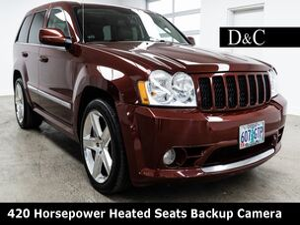 2007 Jeep Grand Cherokee SRT8 420 Horsepower Heated Seats Backup Camera