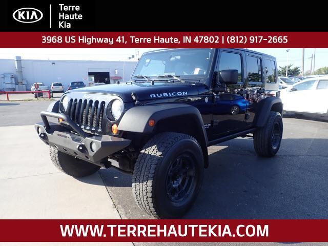 2007 Jeep Wrangler 4WD 4dr Unlimited Rubicon Terre Haute IN