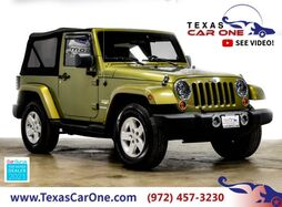 2007_Jeep_Wrangler_SAHARA 4WD AUTOMATIC SOFT TOP CONVERTIBLE CRUISE CONTROL ALLOY W_ Carrollton TX