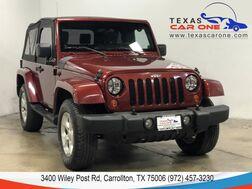 2007_Jeep_Wrangler_SAHARA 4WD SOFT TOP CONVERTIBLE ALLOY WHEELS CRUISE CONTROL_ Carrollton TX