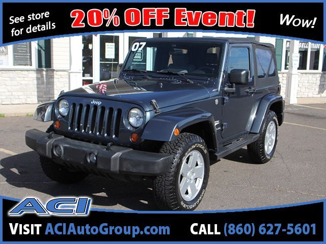 2007 Jeep Wrangler Sahara East Windsor CT