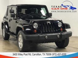 2007_Jeep_Wrangler_UNLIMITED SAHARA 4WD AUTOMATIC SOFT TOP CONVERTIBLE BLUETOOTH CR_ Carrollton TX