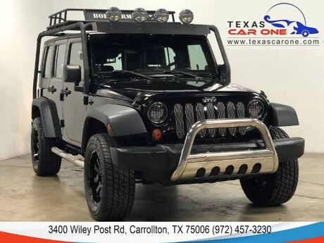 2007 Jeep Wrangler UNLIMITED X 4WD AUTOMATIC HARD TOP CONVERTIBLE NAVIGATION LEATHER REAR CAMERA Carrollton TX