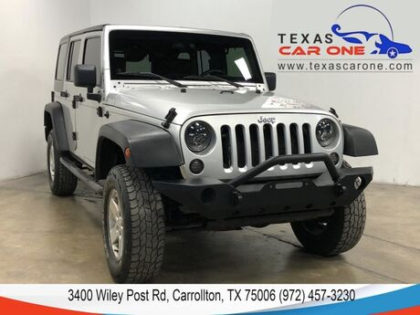 2007 Jeep Wrangler UNLIMITED X 4WD AUTOMATIC HARD TOP CONVERTIBLE RUNNING BOARDS ALLOY WHEELS Carrollton TX