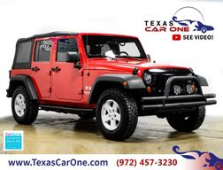 2007_Jeep_Wrangler_UNLIMITED X 4WD AUTOMATIC SOFT TOP CONVERTIBLE CRUISE CONTROL TOW HITCH ALLOY WHEELS_ Carrollton TX