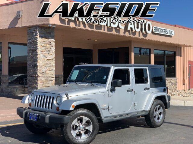 2007 Jeep Wrangler Unlimited Sahara 4WD Colorado Springs CO