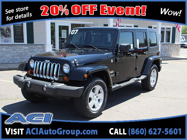 2007 Jeep Wrangler Unlimited Sahara East Windsor CT