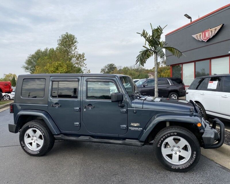 2007 Jeep Wrangler Unlimited Sahara Evansville IN