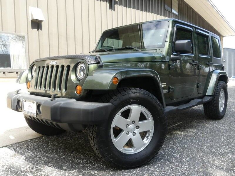 2007 Jeep Wrangler Unlimited Sahara Sykesville MD