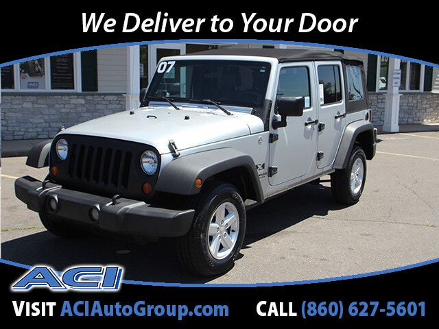 2007 Jeep Wrangler Unlimited X East Windsor CT