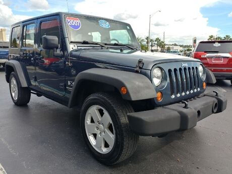 2007 Jeep Wrangler Unlimited X Fort Myers FL