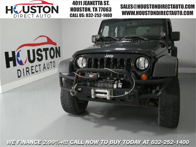 2007 Jeep Wrangler Unlimited X Houston TX