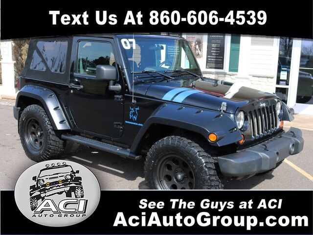 2007 Jeep Wrangler X East Windsor CT