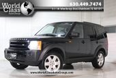 2007 Land Rover LR3 HSE - AWD SUN ROOF NAVIGATION LEATHER POWER HEATED SEATS OFF ROAD SUSPENSION PARKING SENSORS REAR PASSENGER HEATED SEATS THIRD ROW REAR MOON ROOFS HARMON KARDON AUDIO SYSTEM