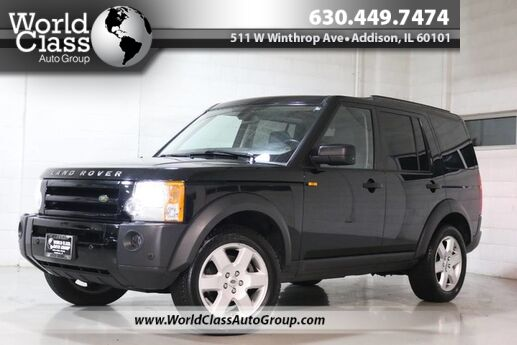 2007 Land Rover LR3 HSE - AWD SUN ROOF NAVIGATION LEATHER POWER HEATED SEATS OFF ROAD SUSPENSION PARKING SENSORS REAR PASSENGER HEATED SEATS THIRD ROW REAR MOON ROOFS HARMON KARDON AUDIO SYSTEM Chicago IL
