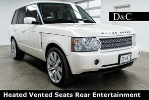 2007_Land Rover_Range Rover_Supercharged Heated Vented Seats Rear Entertainment_ Portland OR
