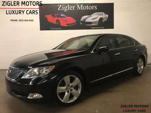 2007 Lexus LS 460 L LWB low miles Two owner Dallas Car Navigation Backup Camera Addison TX