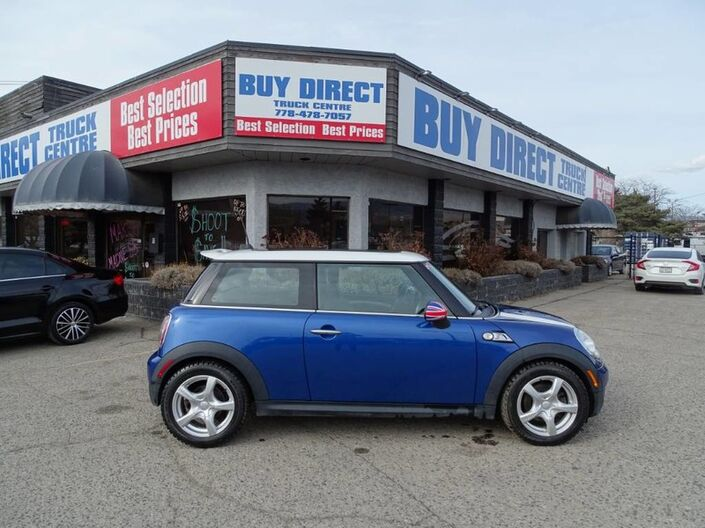 2007 MINI Cooper S Sunroof, Leather, Sport Mode Kelowna BC
