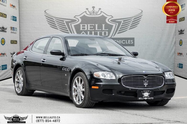2007 Maserati QUATTROPORTE NO ACCIDENT, SENSORS, HEATED SEATS, SUNROOF, LEATHER Toronto ON