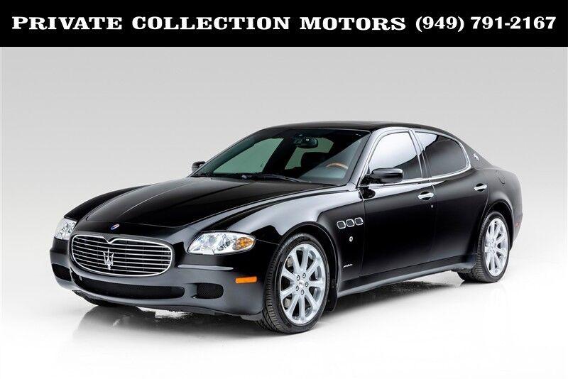 2007_Maserati_Quattroporte__ Costa Mesa CA