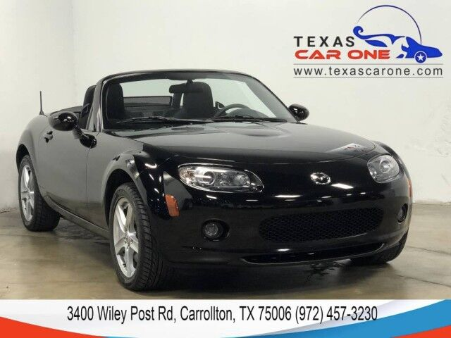 2007 Mazda MX-5 Miata SPORT LEATHER MULTIFUNCTION STEERING WHEELS ALLOY WHEELS Carrollton TX