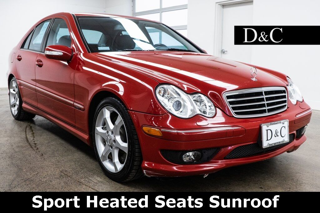 2007 Mercedes-Benz C-Class C 230 Sport Heated Seats Sunroof Portland OR