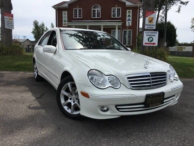 2007 Mercedes-Benz C-Class C280 - Leather - Sunroof - Low Kilometers! London ON