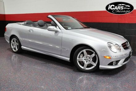 2007_Mercedes-Benz_CLK550 AMG_Sport 2dr Convertible_ Chicago IL