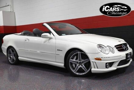 2007_Mercedes-Benz_CLK63 AMG_2dr Convertible_ Chicago IL