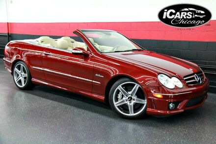 2007_Mercedes-Benz_CLK63_AMG 2dr Convertible_ Chicago IL