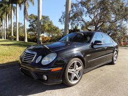 2007_Mercedes-Benz_E-Class_E 63 AMG_ Hollywood FL