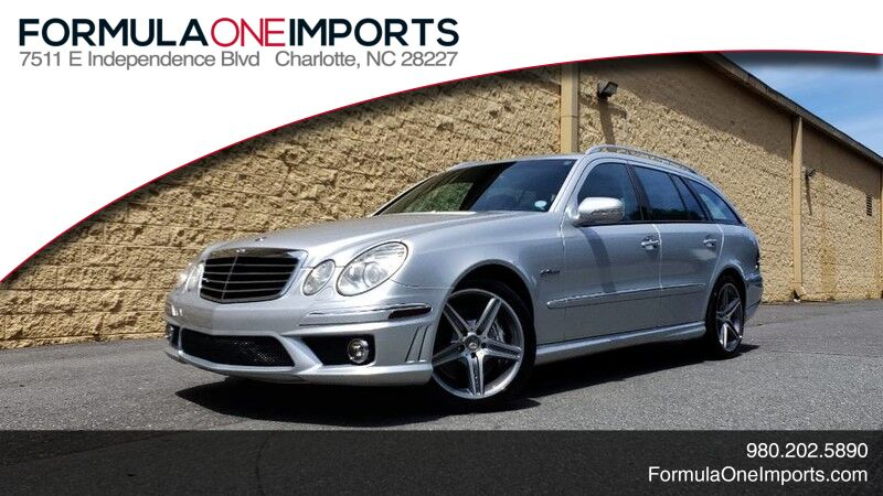 2007 Mercedes-Benz E-Class E63 AMG WAGON / NAV / SUNROOF / HARMAN/KARDON Charlotte NC