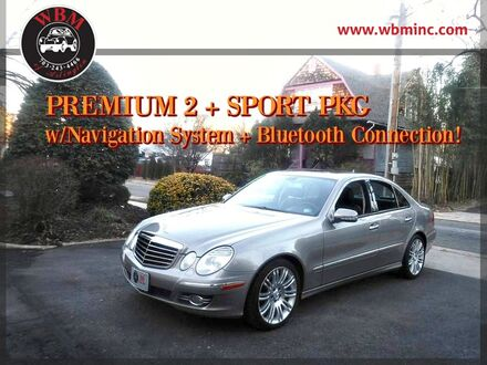 2007_Mercedes-Benz_E350_Sport w/ Premium Package_ Arlington VA
