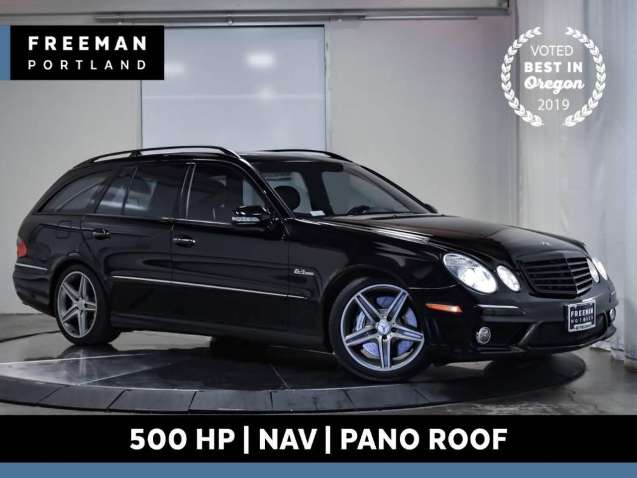 2007 Mercedes-Benz E63 AMG Wagon NAV Climate Seats Pano Roof 46k Miles