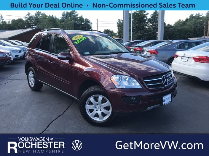 2007 Mercedes-Benz M-Class ML 320 4MATIC® Rochester NH