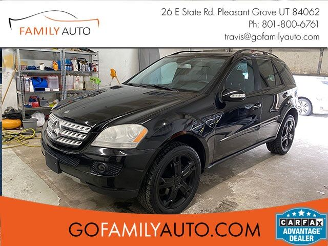 2007 Mercedes-Benz M-Class ML320 CDI Pleasant Grove UT