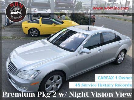 2007_Mercedes-Benz_S 550_w/ Premium Package_ Arlington VA