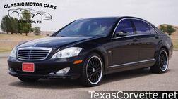 2007_Mercedes-Benz_S-Class_5.5L V12_ Lubbock TX