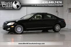 2007_Mercedes-Benz_S-Class_5.5L V8 - LEATHER SEATS DUEL SUN ROOFS DUEL CLIMATE CONTROL HEATED SEATS PASSENGER MIRRORS SUN SHADE NAVIGATION_ Chicago IL