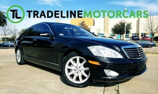 2007_Mercedes-Benz_S-Class_5.5L V8 REAR VIEW CAMERA, NAVIGATION, LEATHER, AND MUCH MORE!!!_ CARROLLTON TX