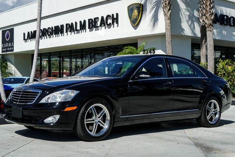 2007 mercedes benz s class 5 5l v8 west palm beach fl 22683069. Black Bedroom Furniture Sets. Home Design Ideas