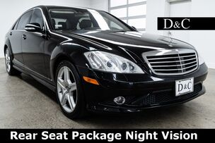 2007 Mercedes-Benz S-Class S 550 Rear Seat Package Night Vision