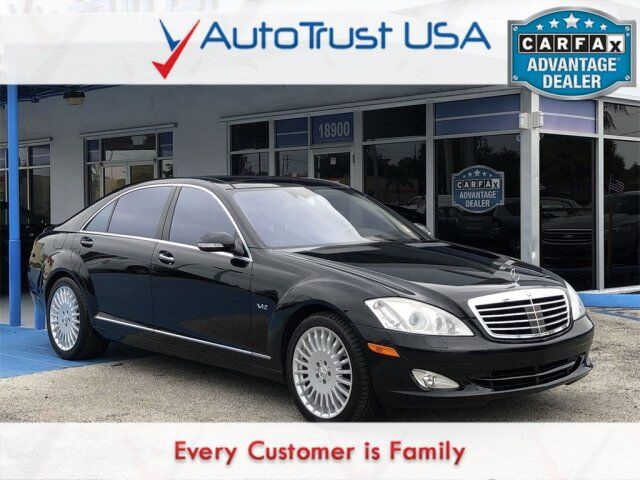 2007 Mercedes-Benz S-Class S 600 Value Lot Miami FL